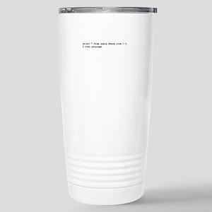 Users Where Clue > 0 Mugs