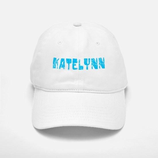 Katelynn Faded (Blue) Baseball Baseball Cap