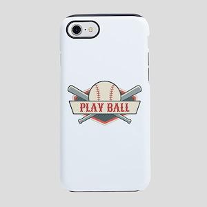 Play Ball Baseball iPhone 8/7 Tough Case