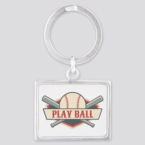Play Ball Baseball Keychains