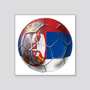 Serbian Football Sticker