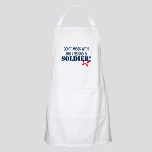 Raised a Soldier BBQ Apron