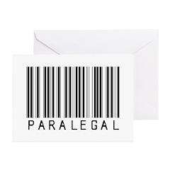 Paramedic Barcode Greeting Cards (Pk of 20)