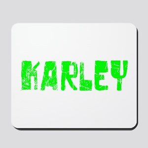Karley Faded (Green) Mousepad