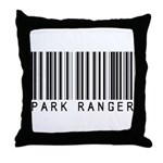 Park Ranger Barcode Throw Pillow