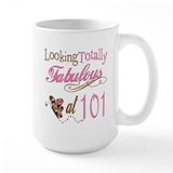 101st birthday Large Mugs (15 oz)