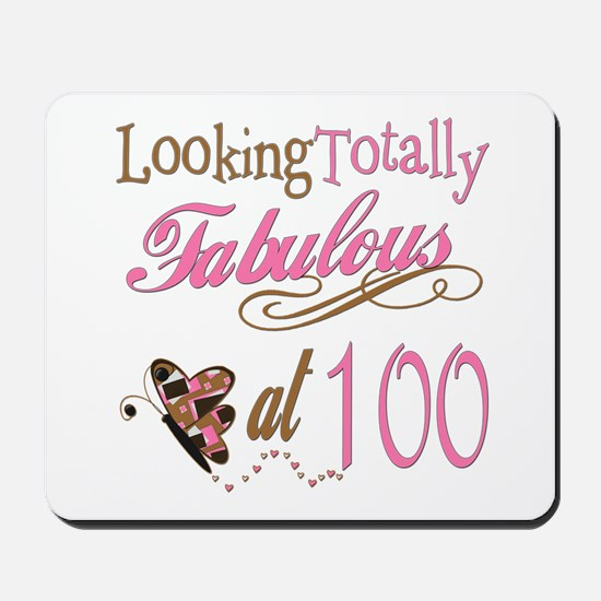 Fabulous 100th Mousepad