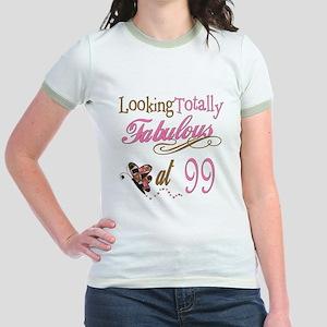 Fabulous 99th Jr. Ringer T-Shirt