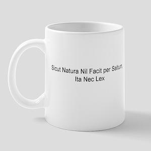 Sicut Natura Mug