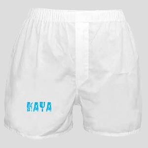 Kaya Faded (Blue) Boxer Shorts