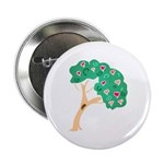 """Tree of Love 2.25"""" Button"""