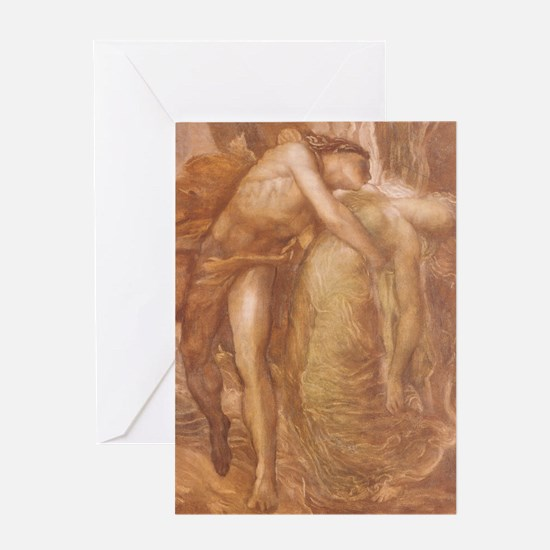 Orpheus & Eurydice Greeting Card