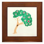Tree of Love Framed Tile