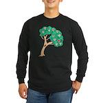Tree of Love Long Sleeve Dark T-Shirt