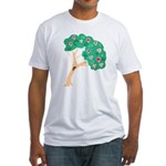 Tree of Love Fitted T-Shirt