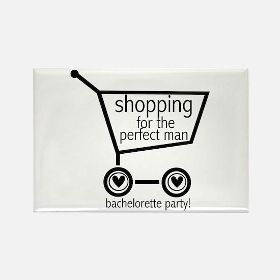 Bachelorette Shopping Rectangle Magnet