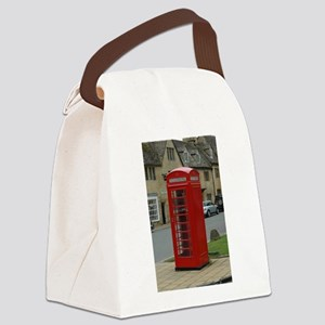Cotswold Telephone Box Canvas Lunch Bag