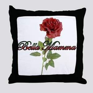 Bella Mamma Throw Pillow