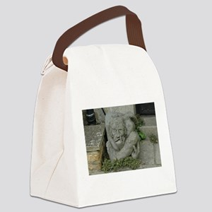 Gargoyle in the Cotswolds Canvas Lunch Bag