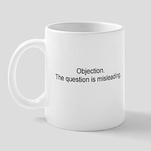 Objection/Misleading Mug
