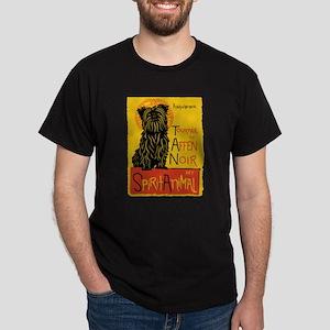 Funny Affenpinscher Cute Dog Chat Noir Mas T-Shirt