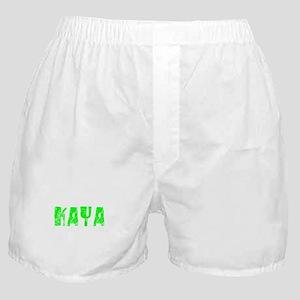 Kaya Faded (Green) Boxer Shorts