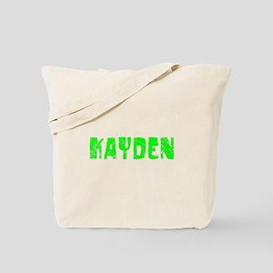 Kayden Faded (Green) Tote Bag