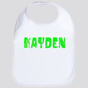 Kayden Faded (Green) Bib