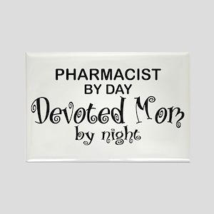 Pharmacist Devoted Mom Rectangle Magnet