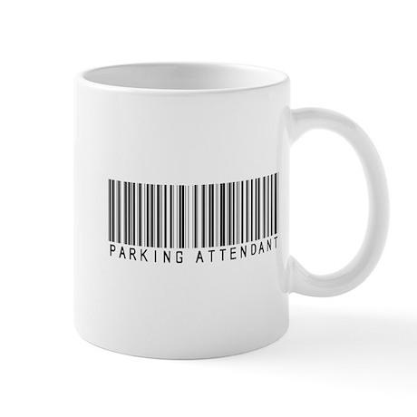 Parking Attendant Barcode Mug
