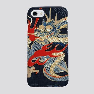 vintage japanese tattoo drag iPhone 8/7 Tough Case