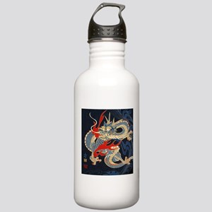 vintage japanese tatto Stainless Water Bottle 1.0L
