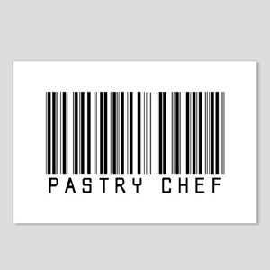 Pastry Chef Barcode Postcards (Package of 8)