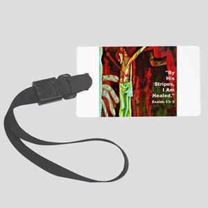 by his blood Large Luggage Tag