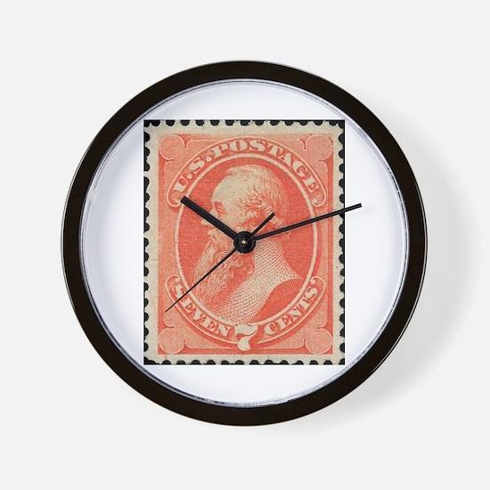 Postage Wall Clock