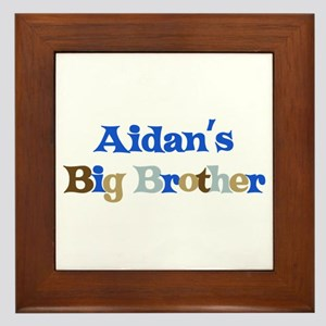 Aidan's Big Brother Framed Tile
