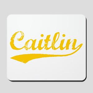 Vintage Caitlin (Orange) Mousepad