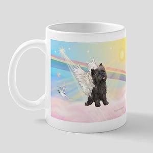 Angel / Cairn Terrier (brin) Mug