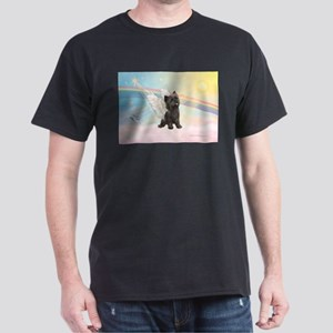 Angel / Cairn Terrier (brin) Dark T-Shirt