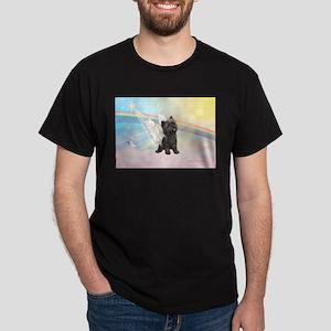 Angel / Cairn Terrier (brin) Dark T-Shirt