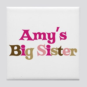 Amy's Big Sister Tile Coaster