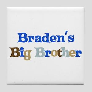 Braden's Big Brother Tile Coaster