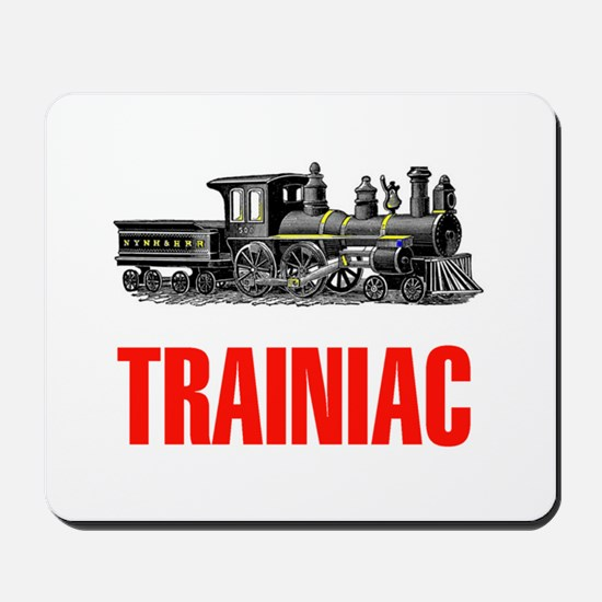 TRAINIAC Mousepad