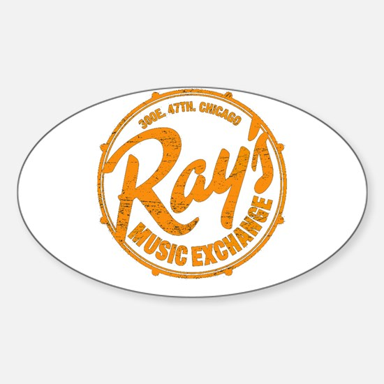 Rays Music Exchange Decal