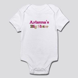 Arianna's Big Sister Infant Bodysuit