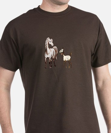 Mare and Foal Horse T-Shirt