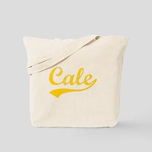 Vintage Cale (Orange) Tote Bag