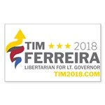 Tim 2018 - Timnado Landscape - Grey Sticker