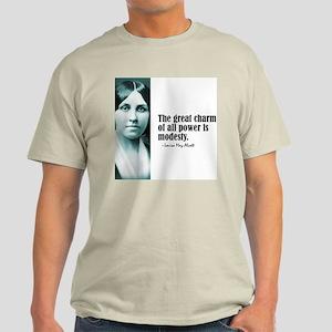 """Alcott """"Modesty"""" Light T-Shirt"""