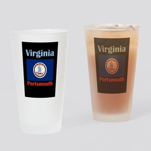 Portsmouth Virginia Drinking Glass